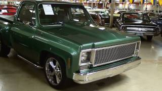 1978 Chevrolet C10 Stepside Pick-up Nicely Restored Hot