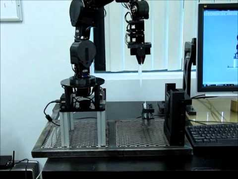 Cyton Gamma 1500 Robot Surface Swipe Procedure for Chemical Detection Application