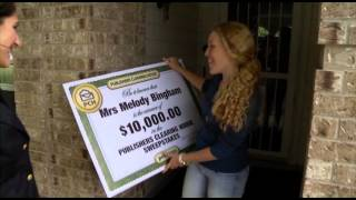 $10,000 Winner Melody Bingham