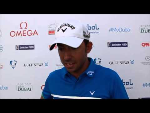 Pablo Larrazábal (Omega Dubai Desert Classic, 2ª Rd. 68 golpes)