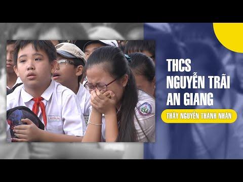 Thầy Nguyễn Thành Nhân - Trường THCS Nguyễn Trãi tại thị xã Châu Đốc, tỉnh An Giang
