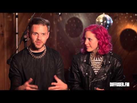 Ms Mr Exclusive Interview Before Their Coachella 2014 Performance- Festival Fever