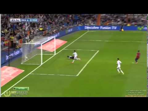 4-0 real madrid vs osasuna 26/04/14 gol de carvajal HD