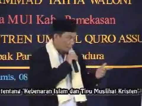 Pendeta DR. Yahya Waloni Beberkan Tentang Kristen. Part 2.