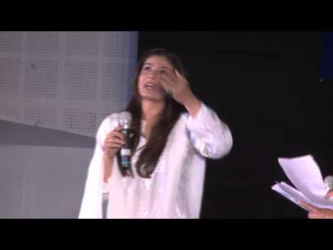 Raveena Tandon interview at Rotary District Conference 2014