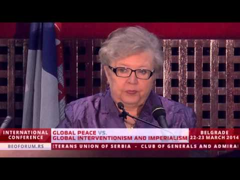 JELENA GUSKOVA (Global Peace vs. Global Interventionism and Imperialism)