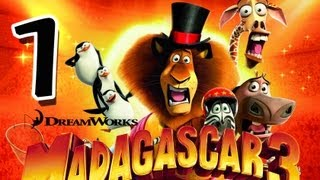 Madagascar 3: The Game (PS3) Walkthrough Part 1 (Mission 1