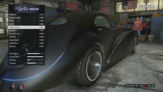 GTA 5 - Fully Customized Z-Type ($10,000,000 Car)