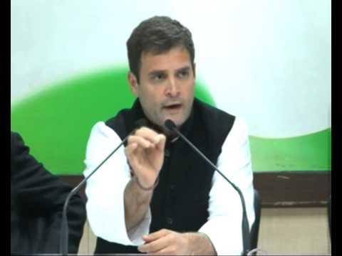 Rahul Gandhi angry outburst on corruption