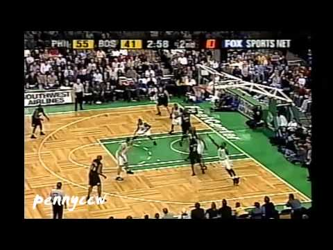 Allen Iverson 40 point games | #38 | 47pts vs Boston Celtics [2002-01-25]