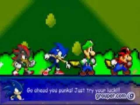 Mario,Sonic,Luigi,Shadow VS The - 14.5KB