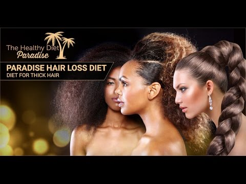 Diet for Thick Hair: Reverse Hair Loss & Hair Thinning!