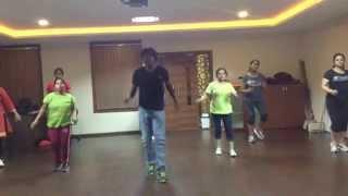 """Attarintiki Daredi """"kiraku"""" Video Song (zumba Fitness With"""