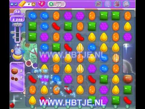 Candy Crush Saga Dreamworld level 60