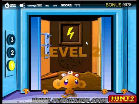Game chú khỉ buồn 9 - làm chú khỉ vui cười