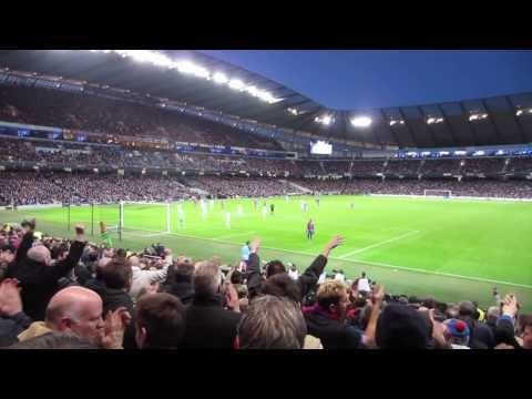 Manchester City vs. Crystal Palace 2013 | PalaceFanTV