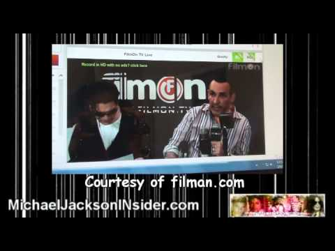 Michael Jackson DNA Test Brandon Howard Press Conference
