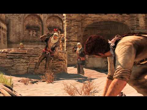 Desert Village Gameplay - UNCHARTED 3