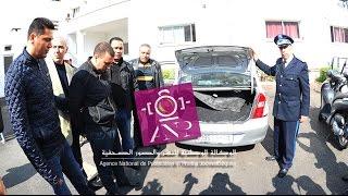 توقيف مروج للمخدرات داخل سيارته بالدارالبيضاء وبحوزته 33 كلغ من الشيرا