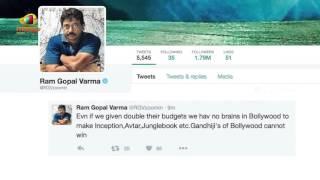 rgv, ram gopal varma, rgv controversial tweets on bollywood
