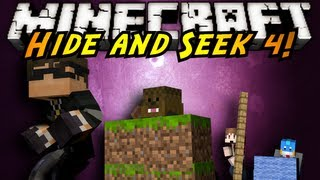 Minecraft Mini-Game : HIDE AND SEEK 4!