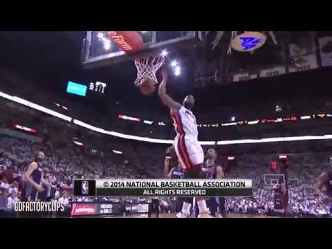 Dwyane Wade Full Highlights vs Bobcats 2014 Playoffs East R1G1 - 23 Pts