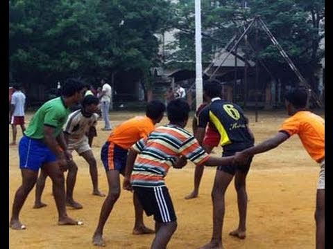 Kabbadi Star Emerges From Chennai Slum