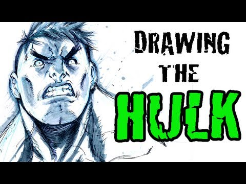 Drawing The Hulk (with Alvin Lee)
