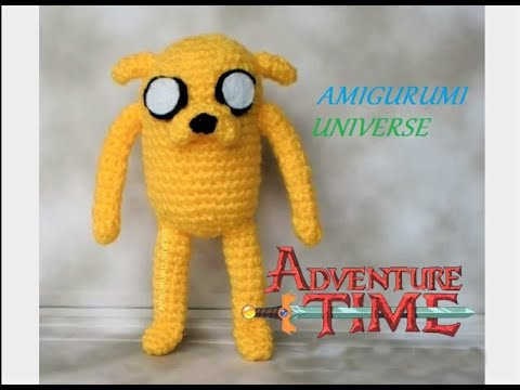 Amigurumi Pokemon Paso A Paso : DIY Crochet Tutorial JAKE (Hora de Aventuras) Amigurumi ...