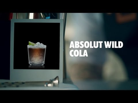 ABSOLUT WILD COLA DRINK RECIPE - HOW TO MIX
