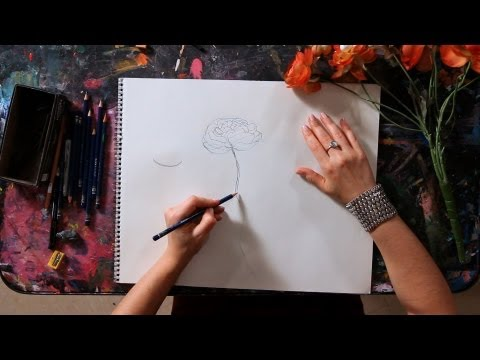 How to Draw a Flower | Drawing Tutorial