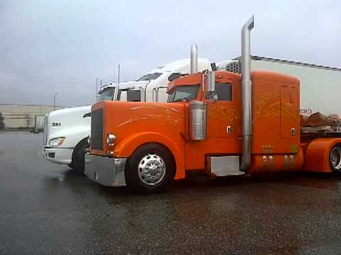 Peterbilt 379 Flat Top Peterbilt 379 flat top long