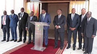 Discours du Ministre MAMADOU Sangafowa Coulibaly