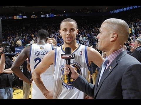 Stephen Curry Heats Up Against the Mavericks