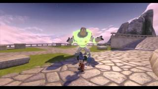 Disney Infinity, Hall Of Heroes Glitch Reveals Glow In The