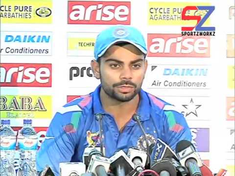 """Difference between exprience of two teams is massive""-Virat Kohli"
