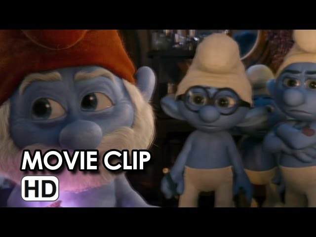 The Smurfs 2 CLIP - He's Turning Blue (2013) - Animated Sequel HD