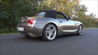 BMW Z4 M Power Kickdown Burnout Acceleration Sound Rev Roadster E85 Z3 videos
