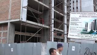Șantier certat cu legea în Valea Trandafirilor, Chișinău