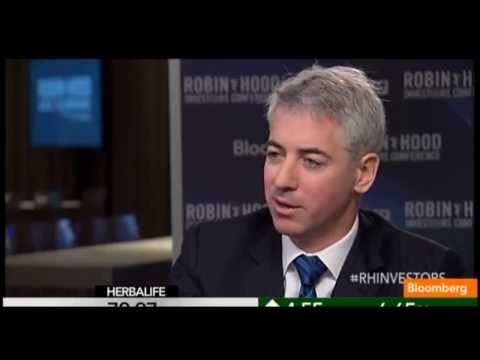 Bill Ackman Robin Hood Conference Bloomberg Interview Part 2