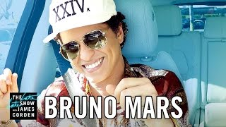 Bruno Mars Carpool Karaoke