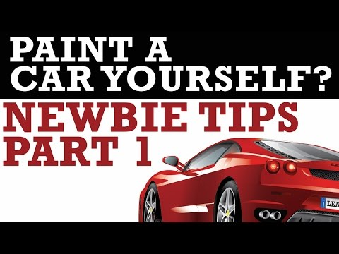 What Does It Take To Paint A Car Yourself? Diy Auto Body Q&a Live!