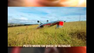 Piloto morre em queda de ultraleve em condom�nio de Conselheiro Lafaiete