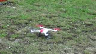 Blade 350 QX Acrobatic Agility Mode And Return To Home