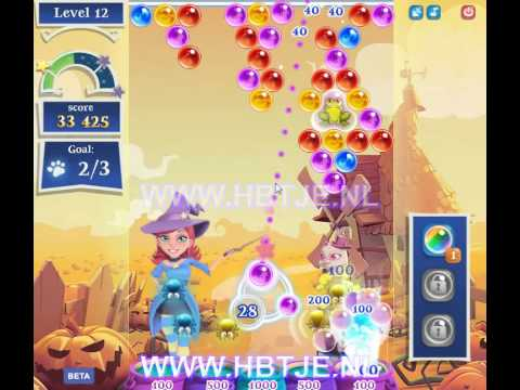 Bubble Witch Saga 2 level 12