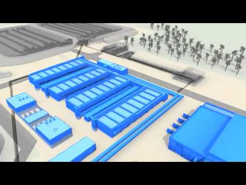 3D animation of tertiary sewage treatment process at the Eastern Treatment Plant