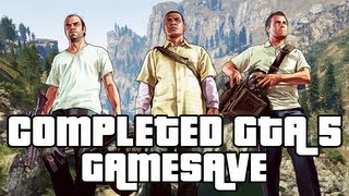GTA 5 Completed GTA 5 Game Save Download $2 BILLION