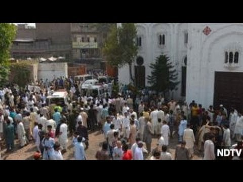 Christians in Pakistan Protest Church Bombing
