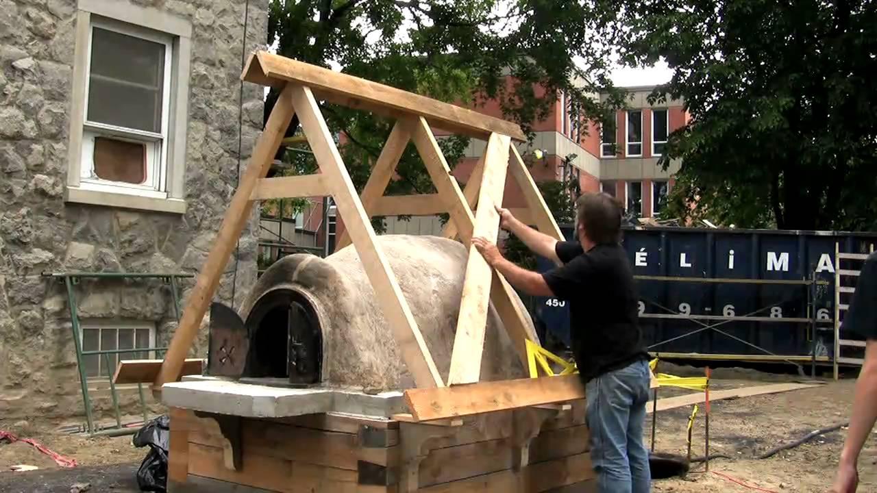 construction d 39 un four pain par jean laberge youtube. Black Bedroom Furniture Sets. Home Design Ideas