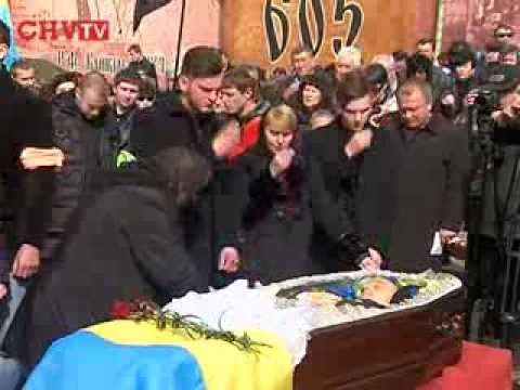У Чернівцях поховали героя Майдану Василя Аксенина